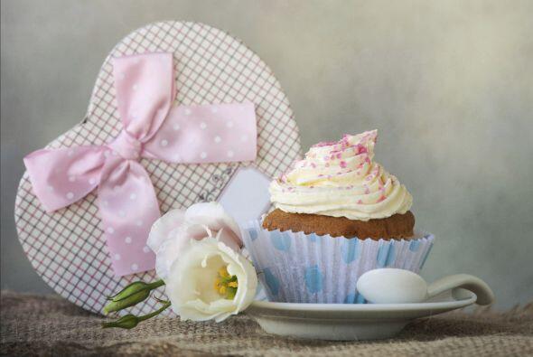 A nadie le disgusta un buen 'cupcake', decorado con amor y si está hecho...