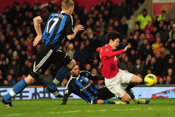 Corría el minuto 38 y se marcó un penalti para los locales.