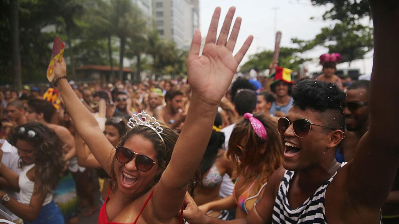 El carnaval de Río reúne a cerca de seis millones de personas