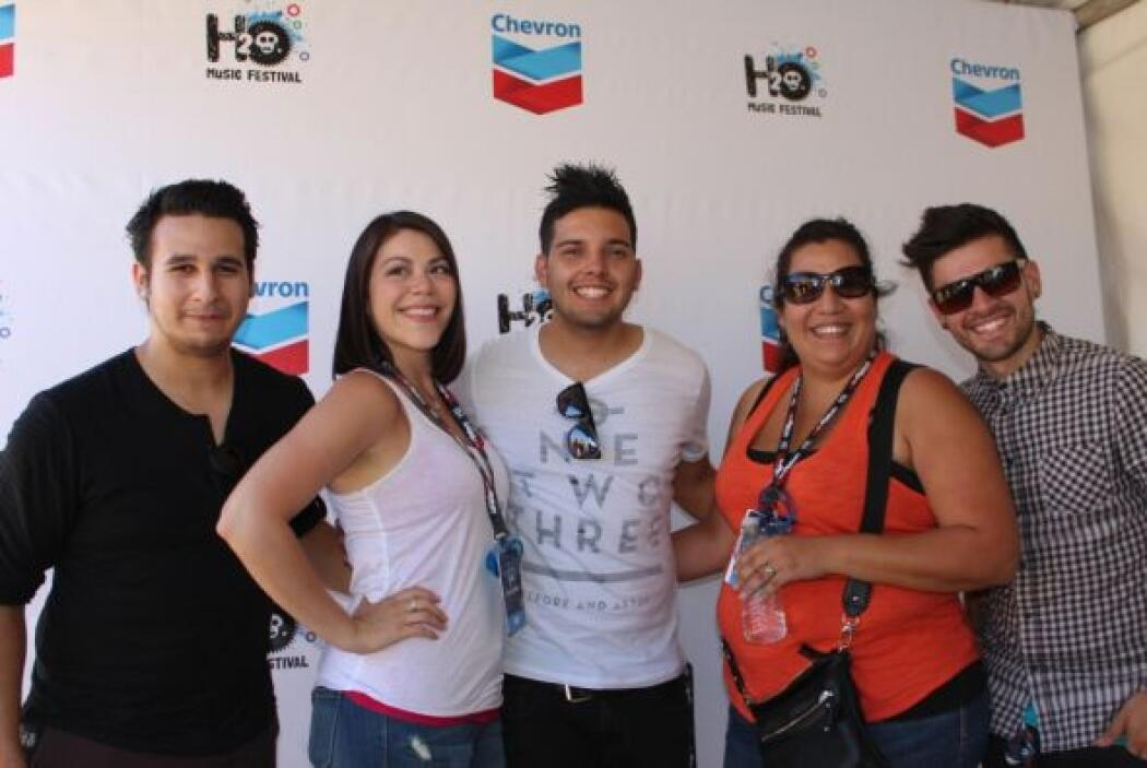 Tras bambalinas en el H2O Music Festival