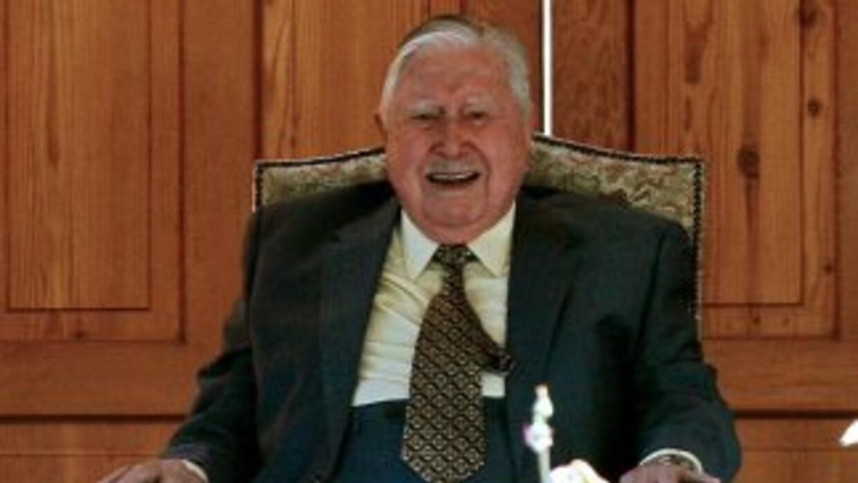 El ex dictador chileno, Augusto Pinochet.