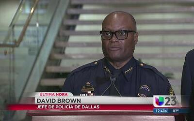 Centro de Dallas es una escena de crimen activa