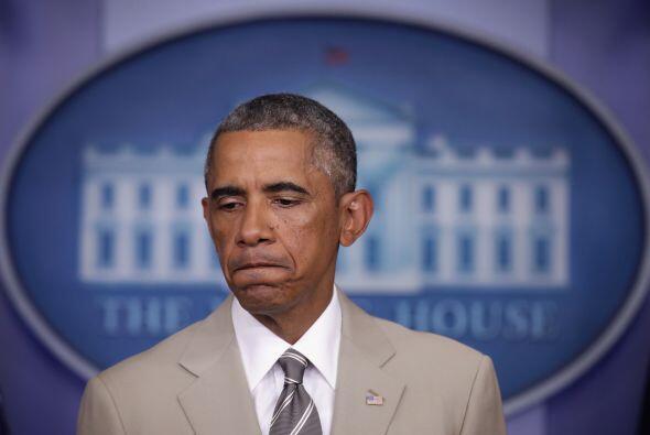 Dos años y cuatro meses después, el presidente de Estados Unidos cambió...