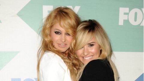 Paulina Rubio y Demi Lovato