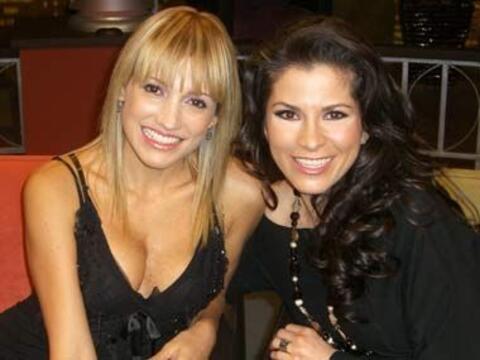 Alessandra Rosaldo y Fanny Lu llegan al escenario de Don Francisco Prese...