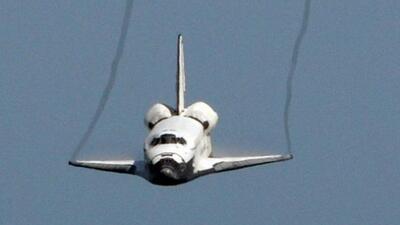 La NASA anunció el destino final de los transbordadores espaciales una v...