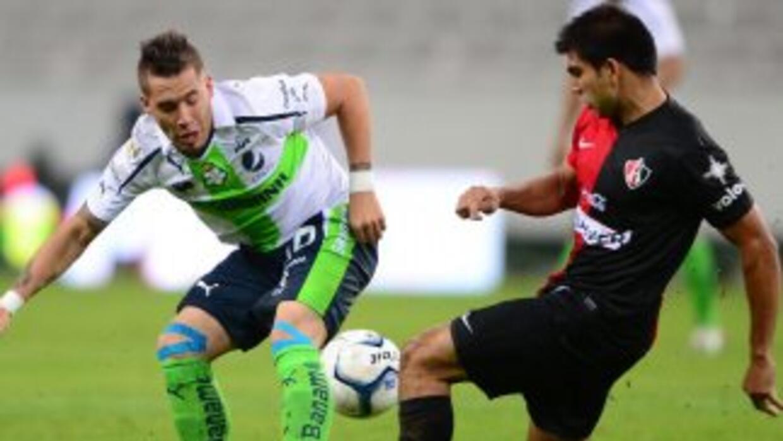 Atlas empató 2 - 2 con Santos en el estadio Jalisco