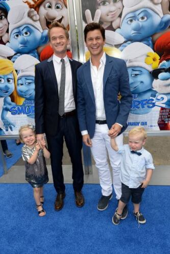 Neil Patrick Harris Otra de las parejas más estables de la comunidad gay...
