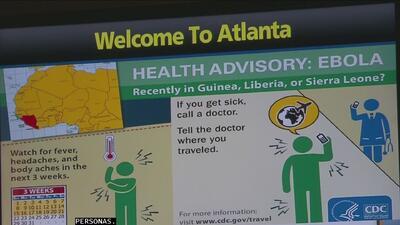 Aeropuertos activan protocolos de seguridad ante el ébola