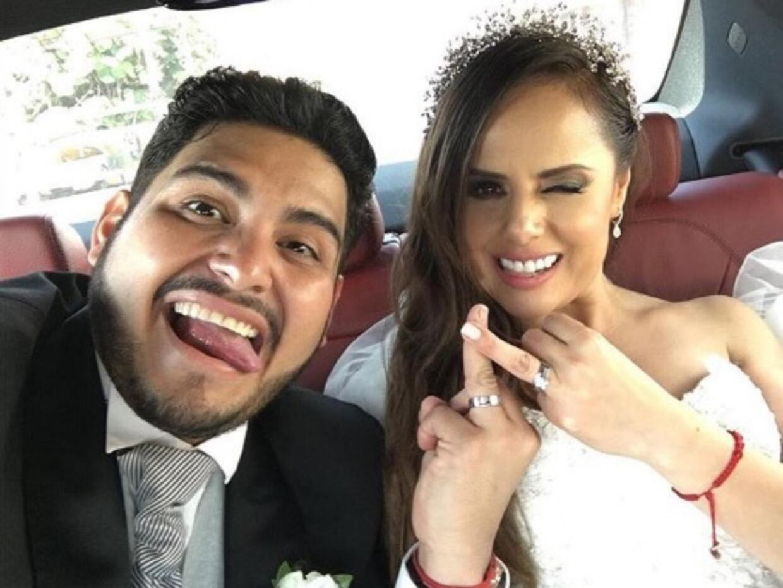 Boda de Isaac Salas de La Adictiva y Lorena Ramirez de Anda