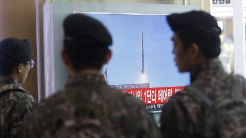 Corea del Norte cohete