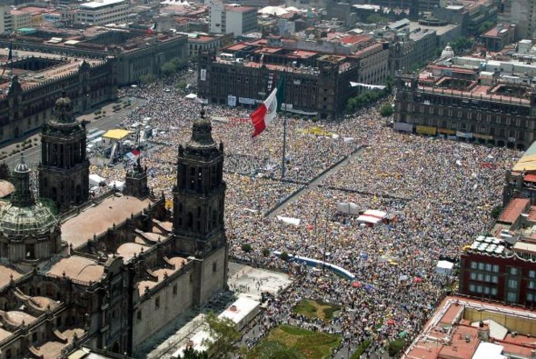 El Zócalo de la Ciudad de México ha sido escenario de diversos eventos s...