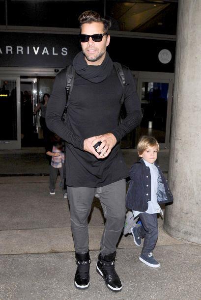 Nadie se imaginó que el guapísimo Ricky Martin se converti...