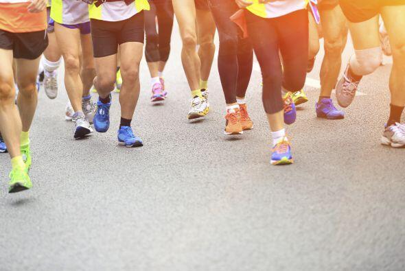 Antes del maratón come carbohidratos ya que al momento de correr...