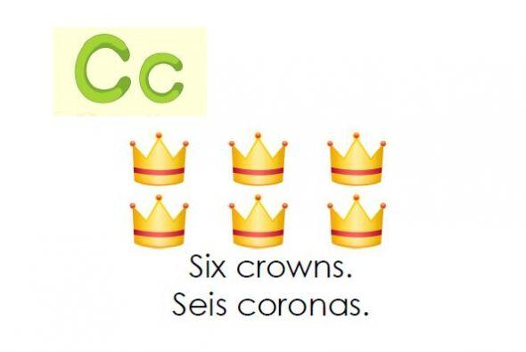 Te traemos este libro bilingüe para aprender la letra C y practicar...