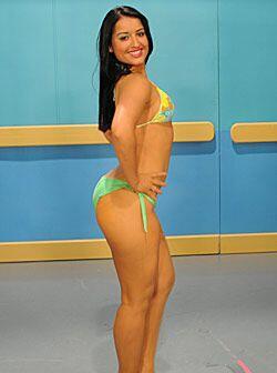 Ella está orgullosa de todo su cuerpo, pues considera que lo mantiene en...
