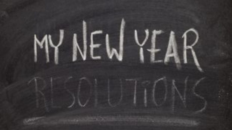 Resoluciones de año nuevo para toda la familia