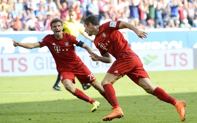 Robert Lewandowski marcó el gol del triunfo cuando corría el minuto 90.