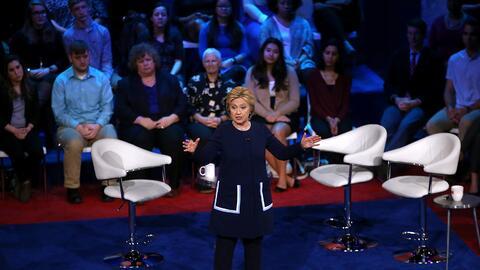 Hillary Clinton puede haber recibido preguntas antes de una entrevista e...