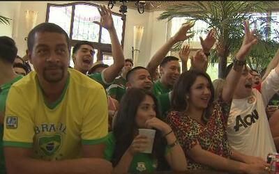 Así se vivió el partido México vs Brasil en Sacramento