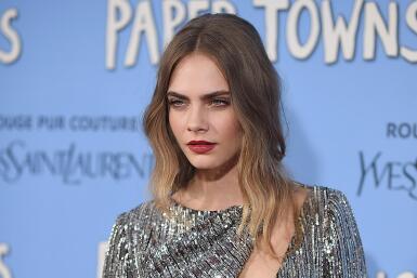 La modelo y actriz fue interrumpida abruptamente.