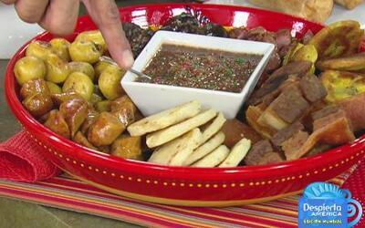 Prepara una tradicional Picada Colombiana para ver el partido