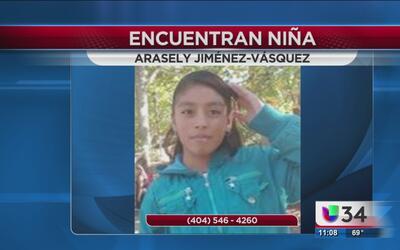Policía de Atlanta da con el paradero de una niña de 12 años reportada c...
