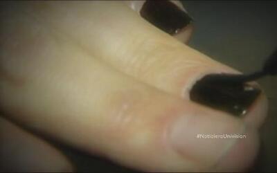 Pintura de uñas podría evitar que una joven sea violada