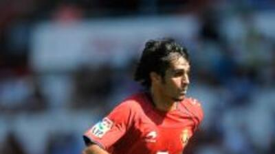 Alejandro Arribas marcó el empate para Osasuna.
