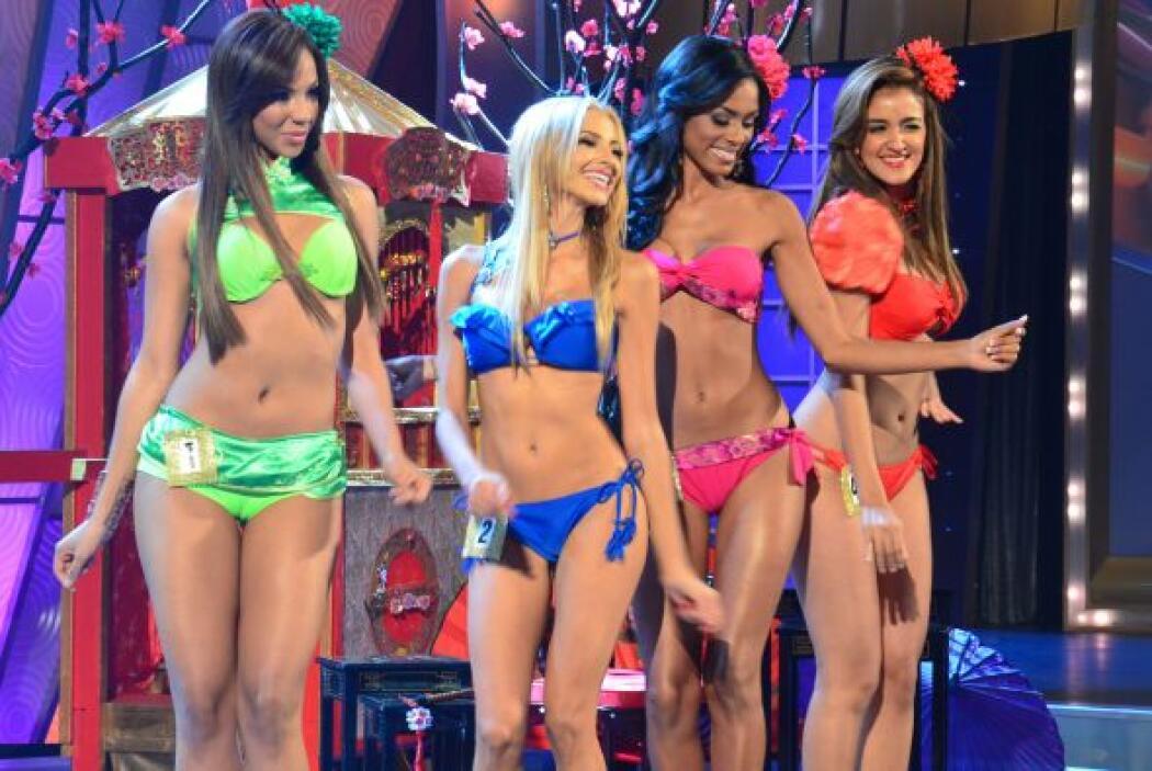 Valerie, Patricia, Génesis, Pierina: ¡todas tan bellas, todas concursand...