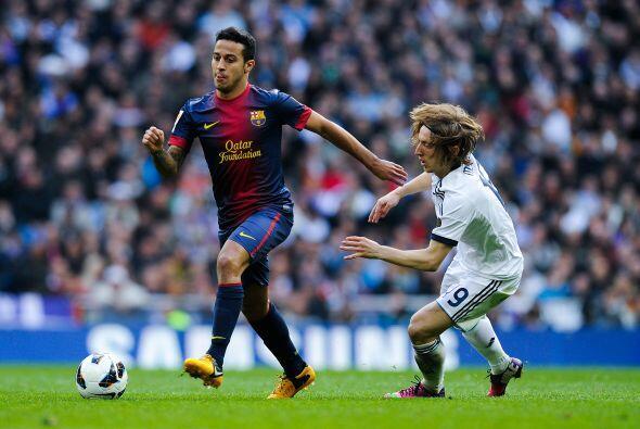 El Madrid entregó el balón, pero el Barcelona no mejoró.