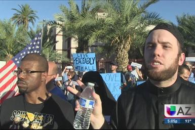 Prevén protesta contra comunidad musulmana
