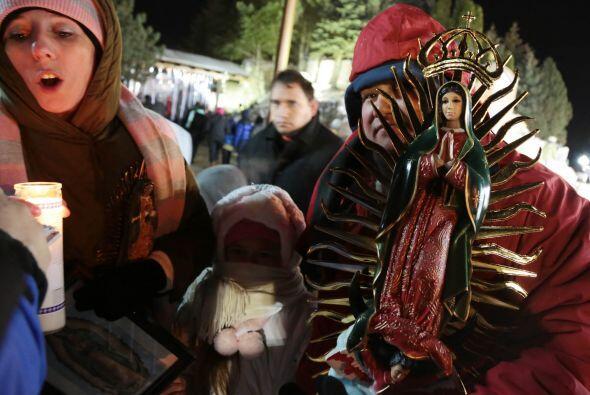 ¡Así se vive la fiesta por la Virgen Morena!