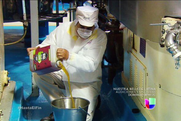 ¿Qué haces Manjarrez? ¡Detente! Estás echando pesticida en los chocolates.