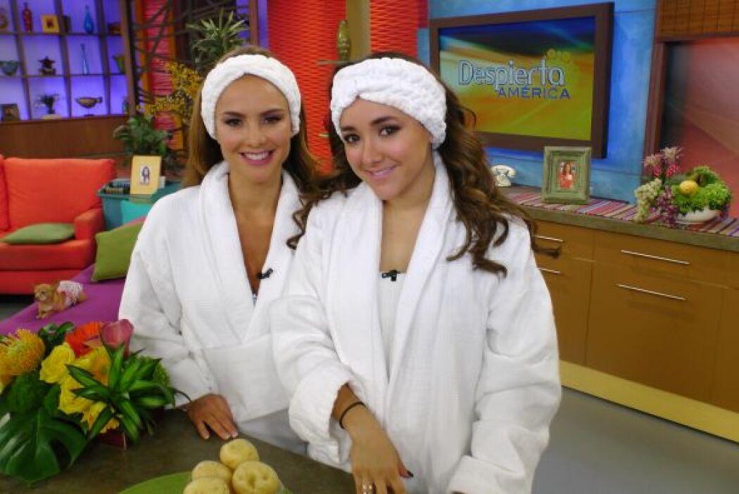 Estas guapas mujeres sí saben cómo mantener su rostro limpio y sano. ¡An...
