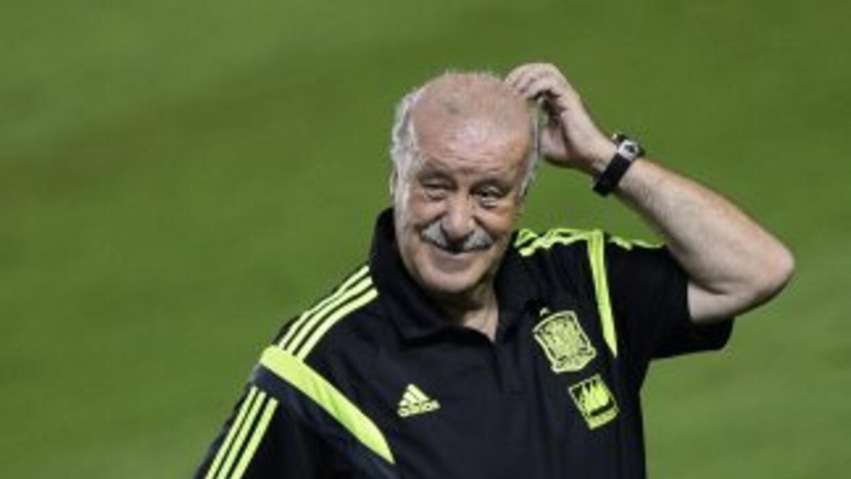 Del Bosque sigue el proceso de renovación de España.