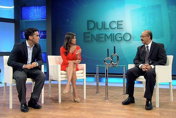 El doctor Enrique Caballero también explicó a los televide...
