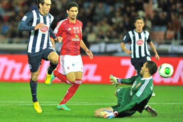 César Delgado, uno de los mejores jugadores de Monterrey en este torneo,...