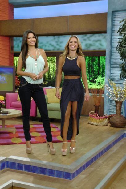 Este jueves, Ana Patricia y Ximena Córdoba lucieron espectaculare...
