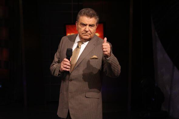 Don Francisco se ha convertido en una figura representativa de la conduc...