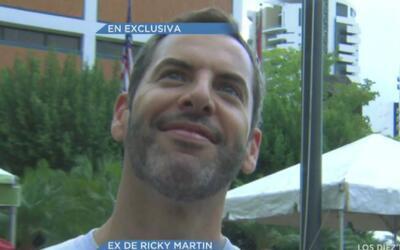 ¿Qué dice el ex de Ricky Martin del nuevo novio del cantante?