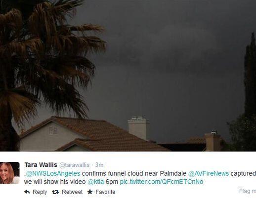 Televidentes y usuarios en Twitter compartieron impactantes imágenes de...
