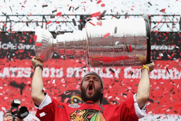 Fue el lunes cuando el equipo ganó su tercera Copa Stanley en seis años.