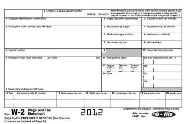 3- Si ganaste dinero durante el 2014 necesitarás las formas W-2 d...
