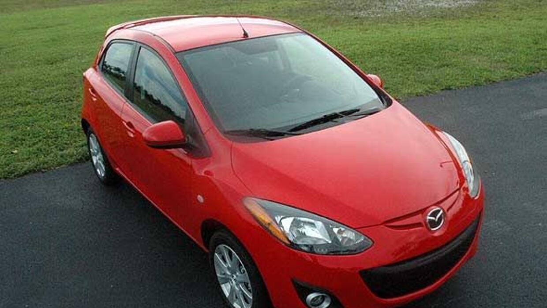 El Mazda2 será la base para el nuevo vehículo de Toyota.