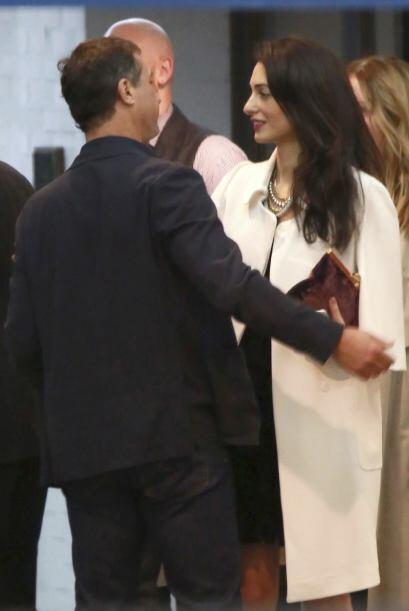 Apenas en septiembre Amal y George se juraron amor eterno.