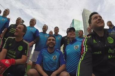 Diario de Ana Caty: UDN entrenó con la Selección de México