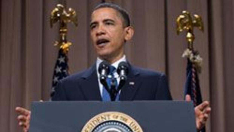 De visita en NY el Presidente Obama pidio el apoyo de Wall Street a la r...