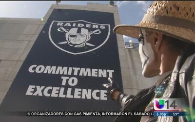 Raiders de Oakland se mudan a Las Vegas
