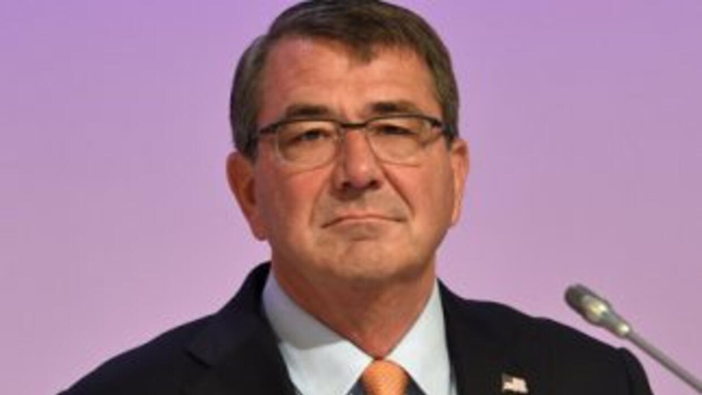 El secretario de Defensa de EEUU, Ashton Carter.